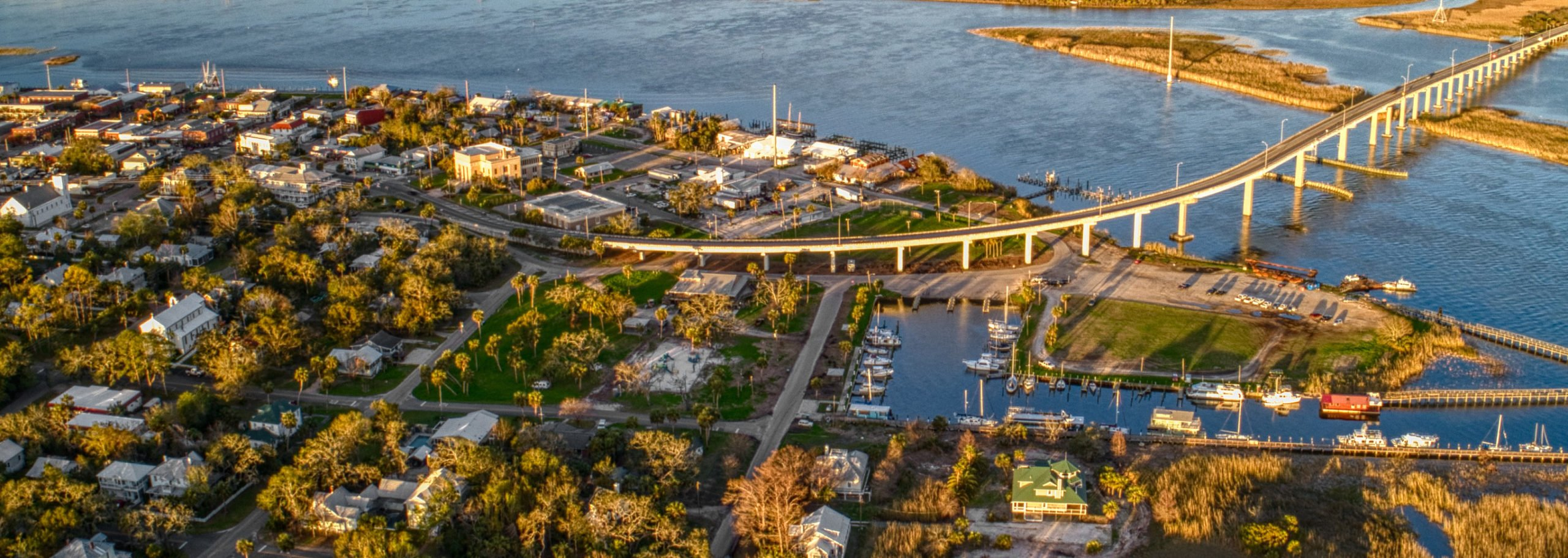 View of Homes and Land For Sale in Apalachicola, FL 32320